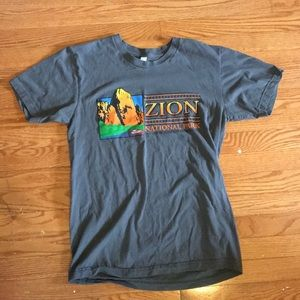 Zion National Park Graphic T-Shirt